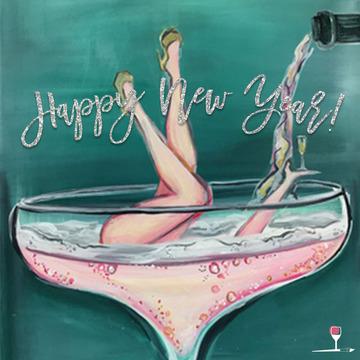 Wine & Design Happy New Year