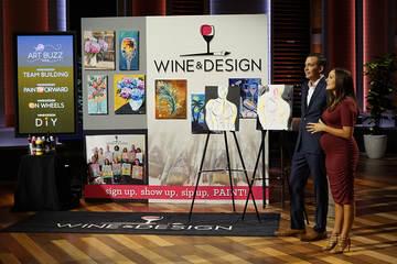 Harriet & Patrick Mills from Wine & Design on Shark Tank