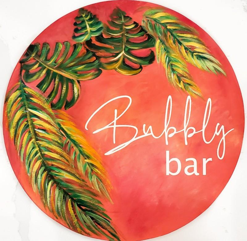 Bubbly Bar SIGN