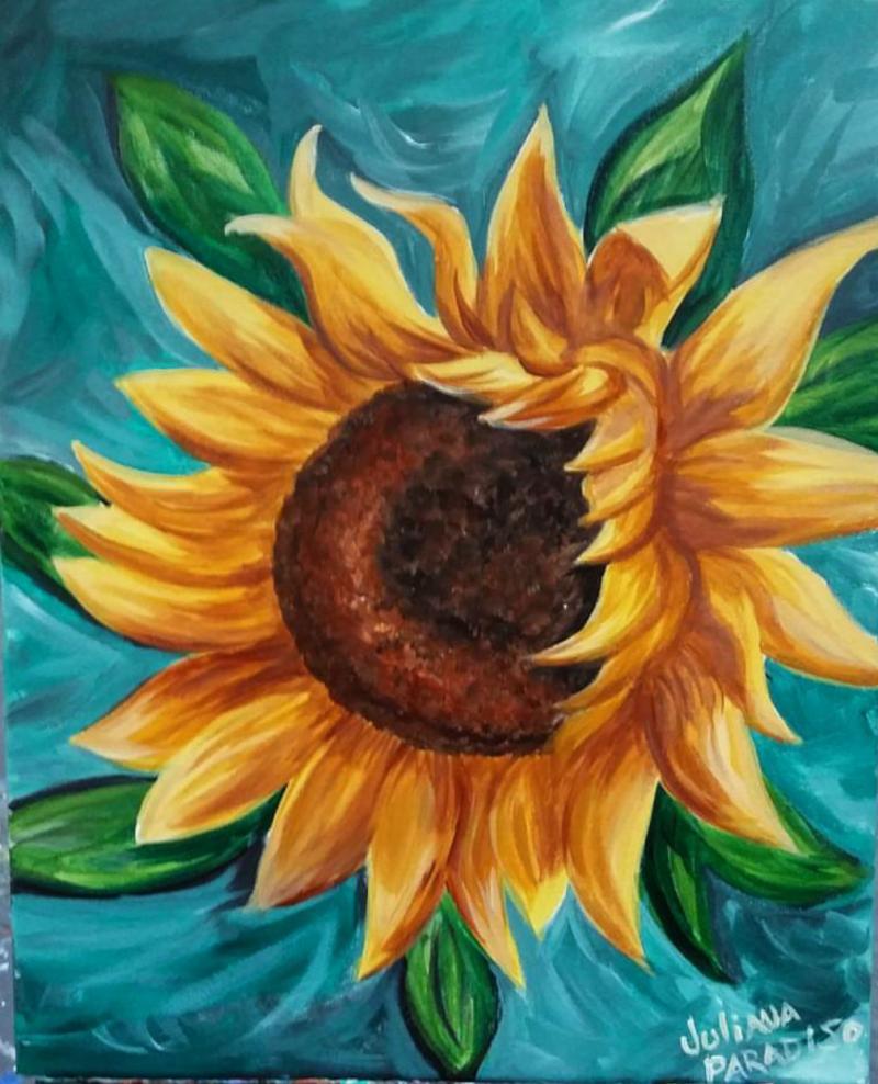 Art in the Park! Sunflower