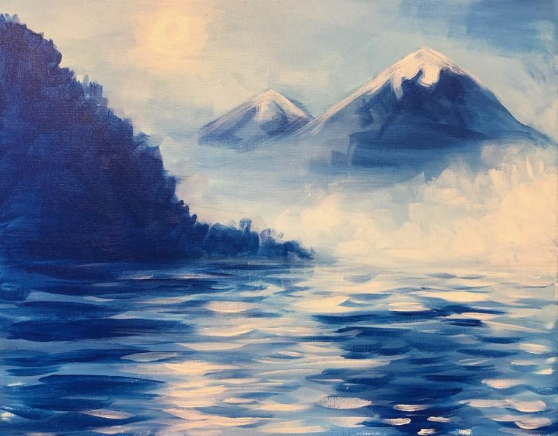 Virtual Class- Blue Misty Mountain
