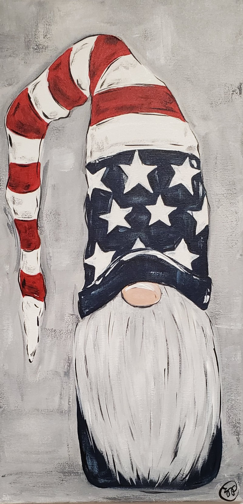 Patriotic Gnome: Kit WITH Brushes