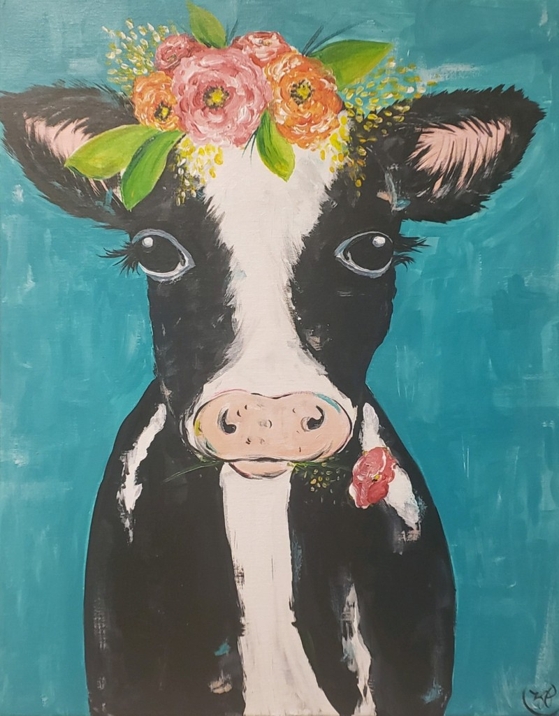 In Studio | Rosy the Cow