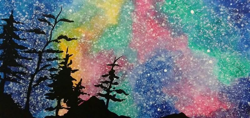 Aurora Starscape