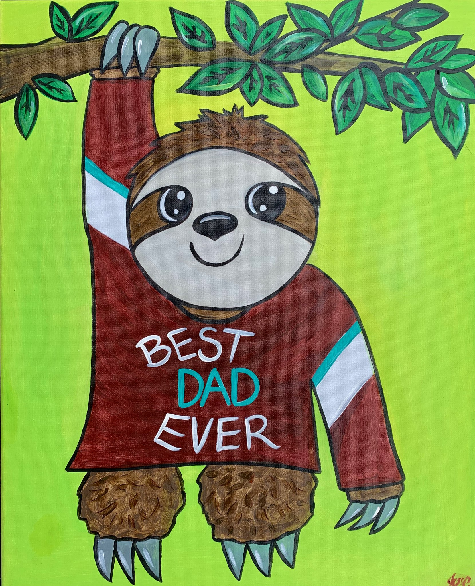 Father's Day | BEST DAD EVER Sloth |