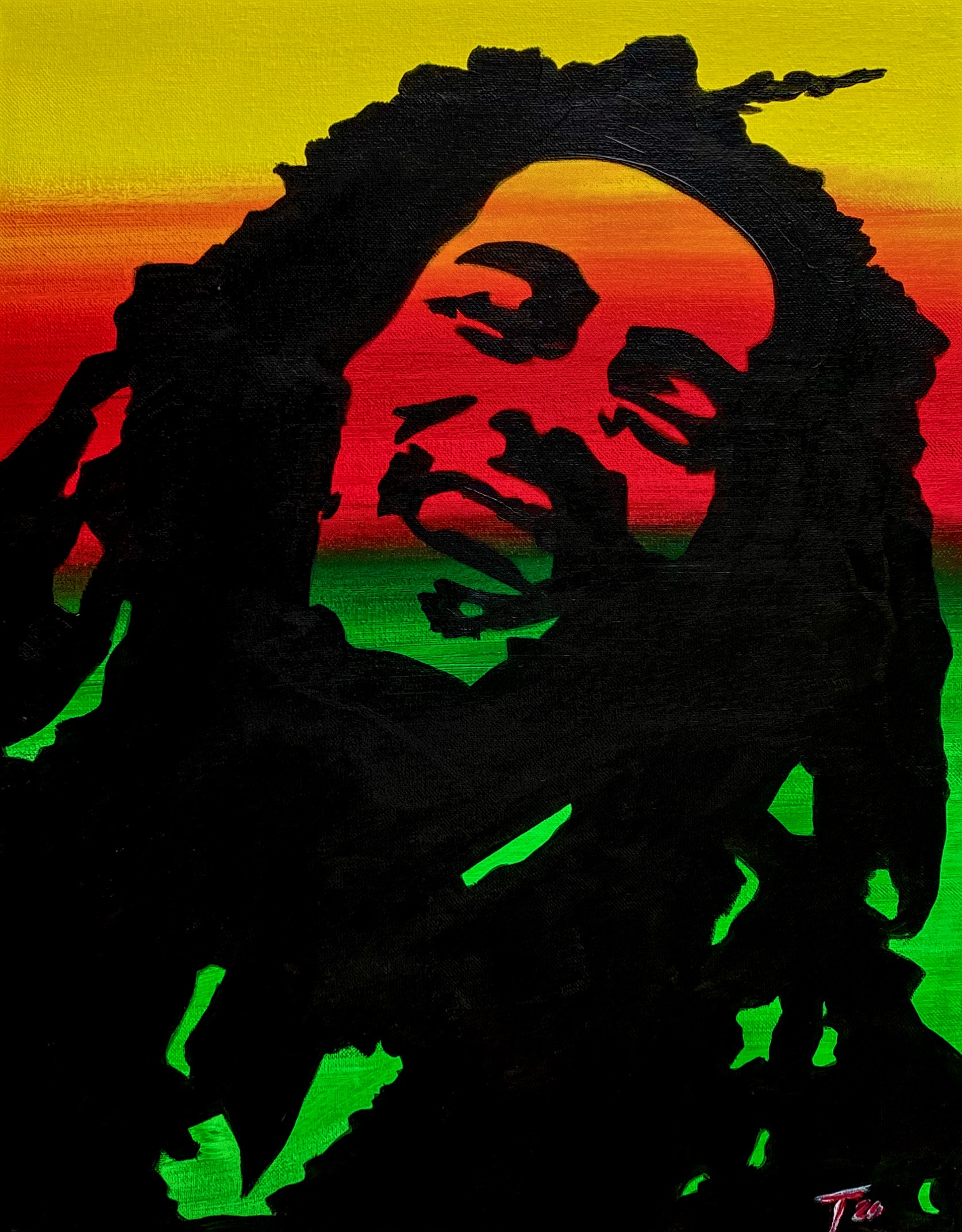 Virtual Class Bob Marley