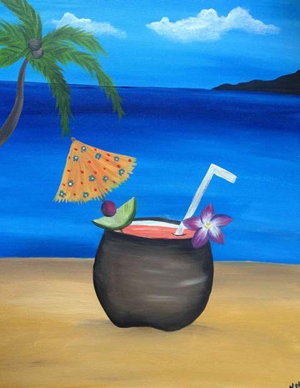 Paradise Sip National Pina Colada Day