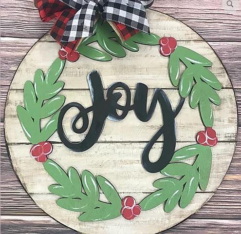 PRE-ORDER: Joy Door Hanger