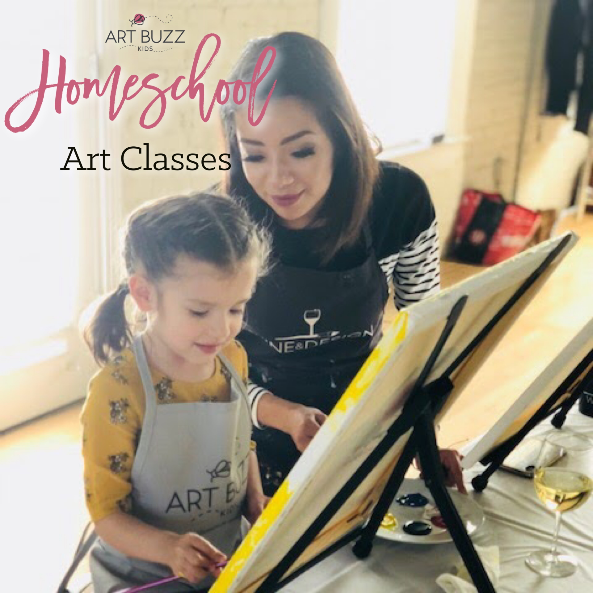 Home School Art Session