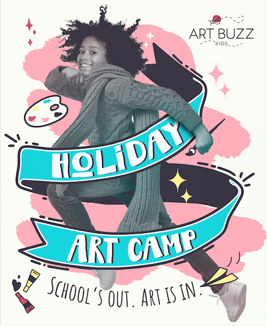 Winter Art Camp 9:00 am to 1:00 pm