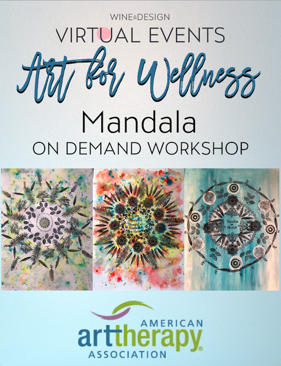 Art for Wellness- Mandala -On Demand