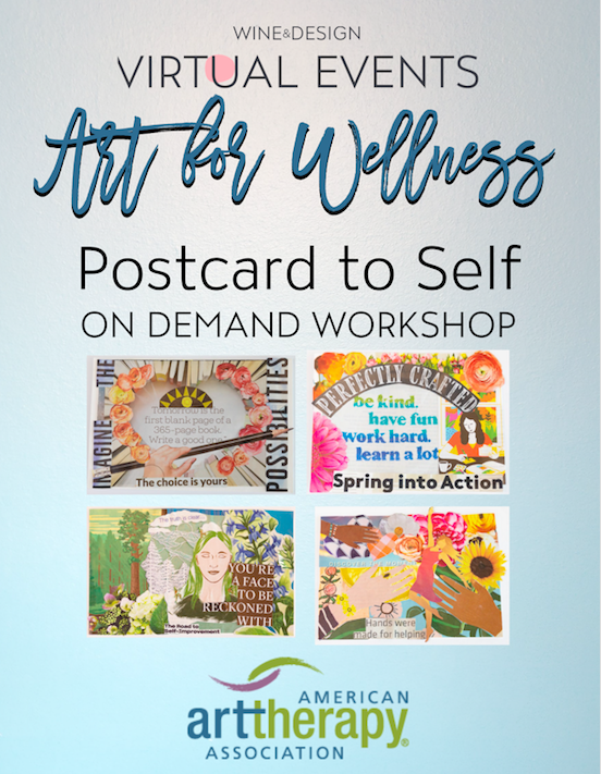 Art for Wellness: Postcard to Self Workshop