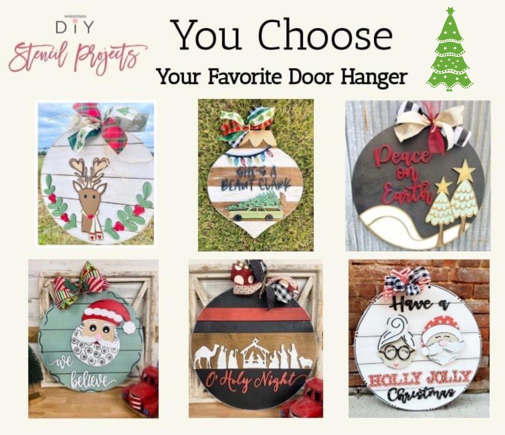 You Choose Doorhanger
