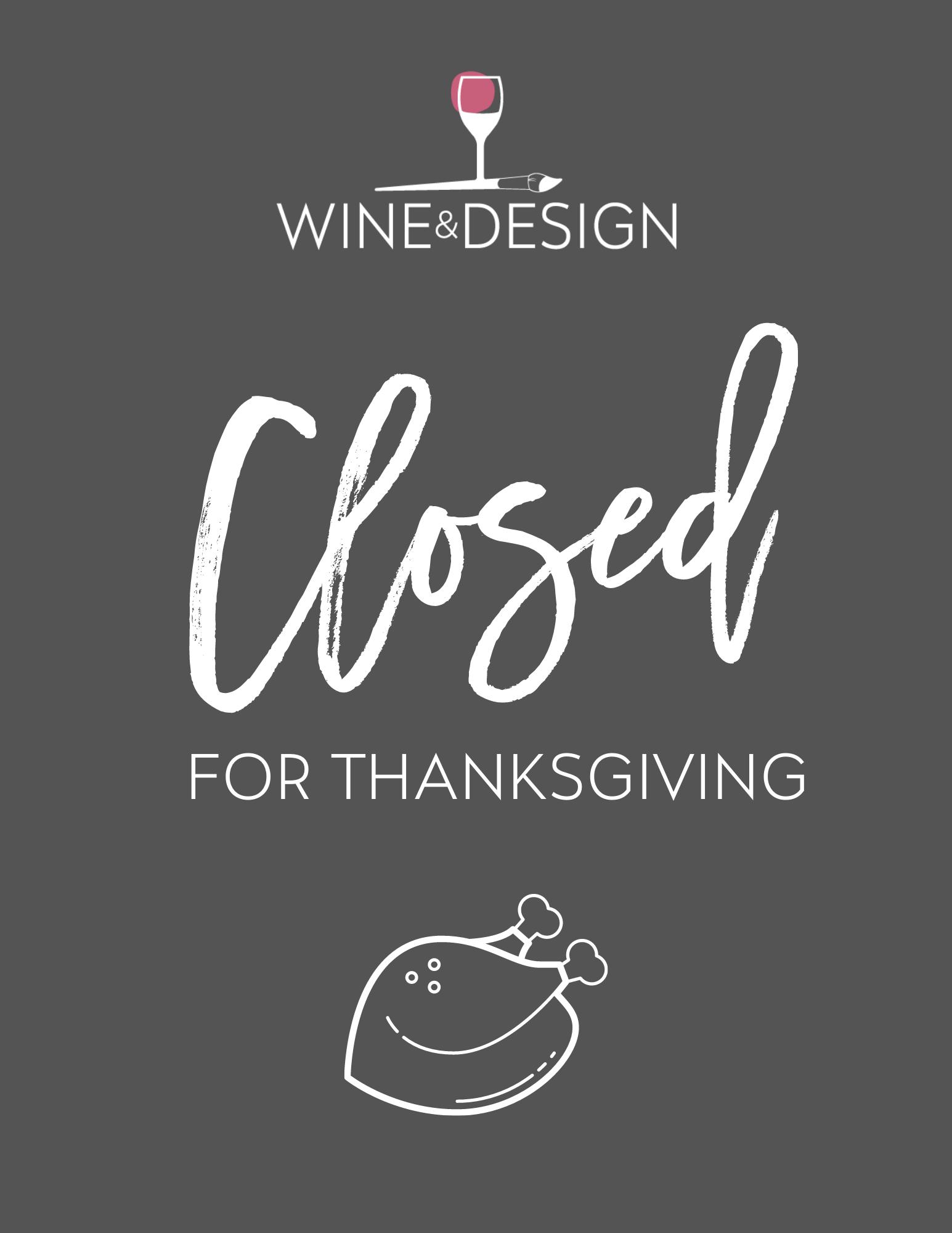 CLOSED | HAPPY THANKSGIVING!!