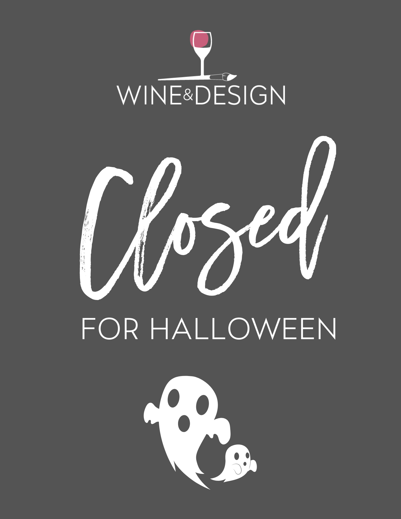 Closed For Halloween!