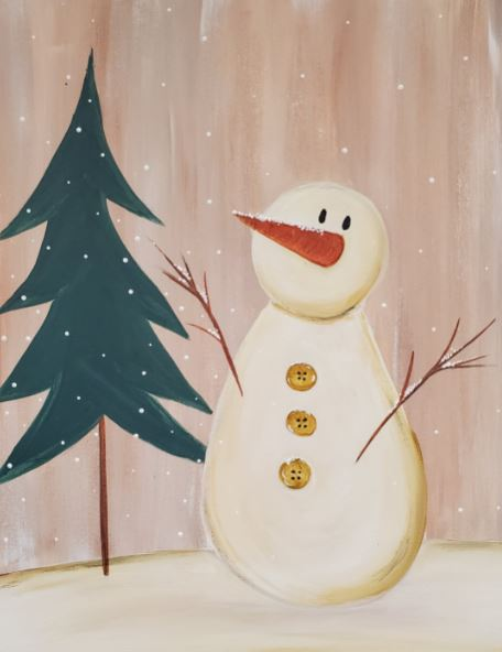 NEW KIT: Vintage Snowman