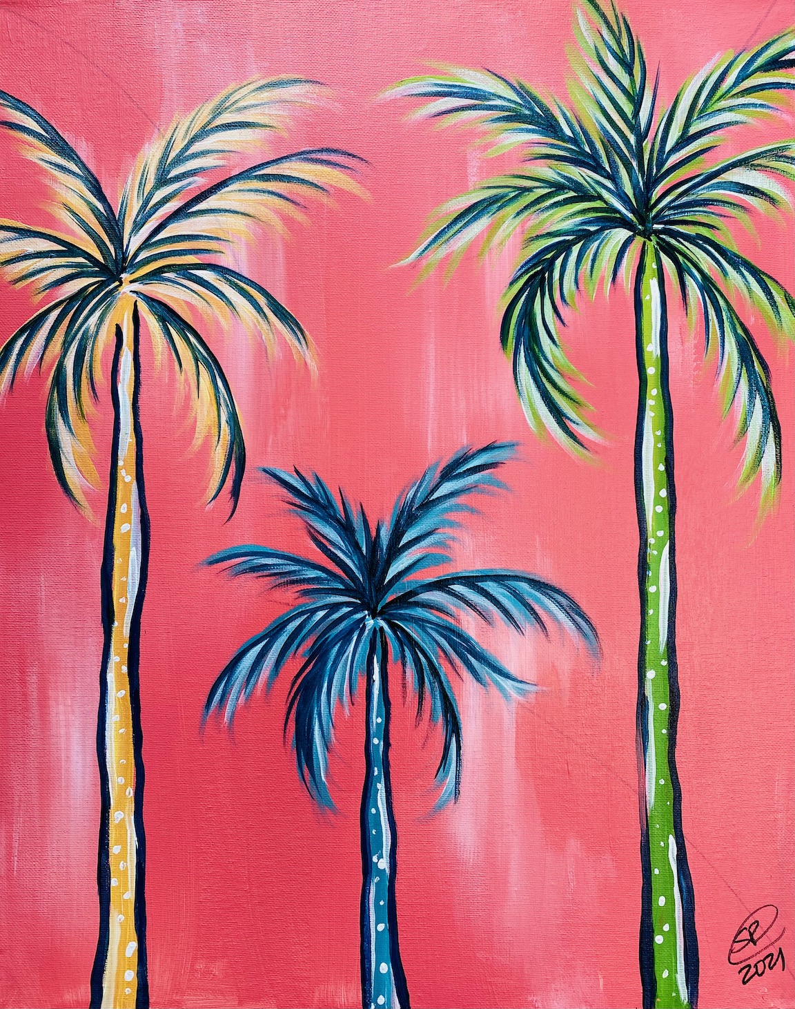 Polka Dot Palms
