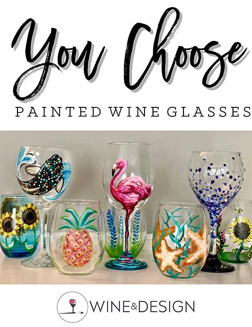 Wine Glasses and Mimosas! - In Studio
