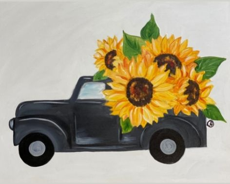 Sunflower Farm Truck
