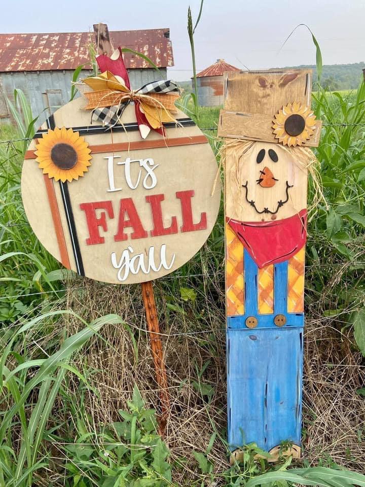 Scarecrow 2 Piece Porch Set
