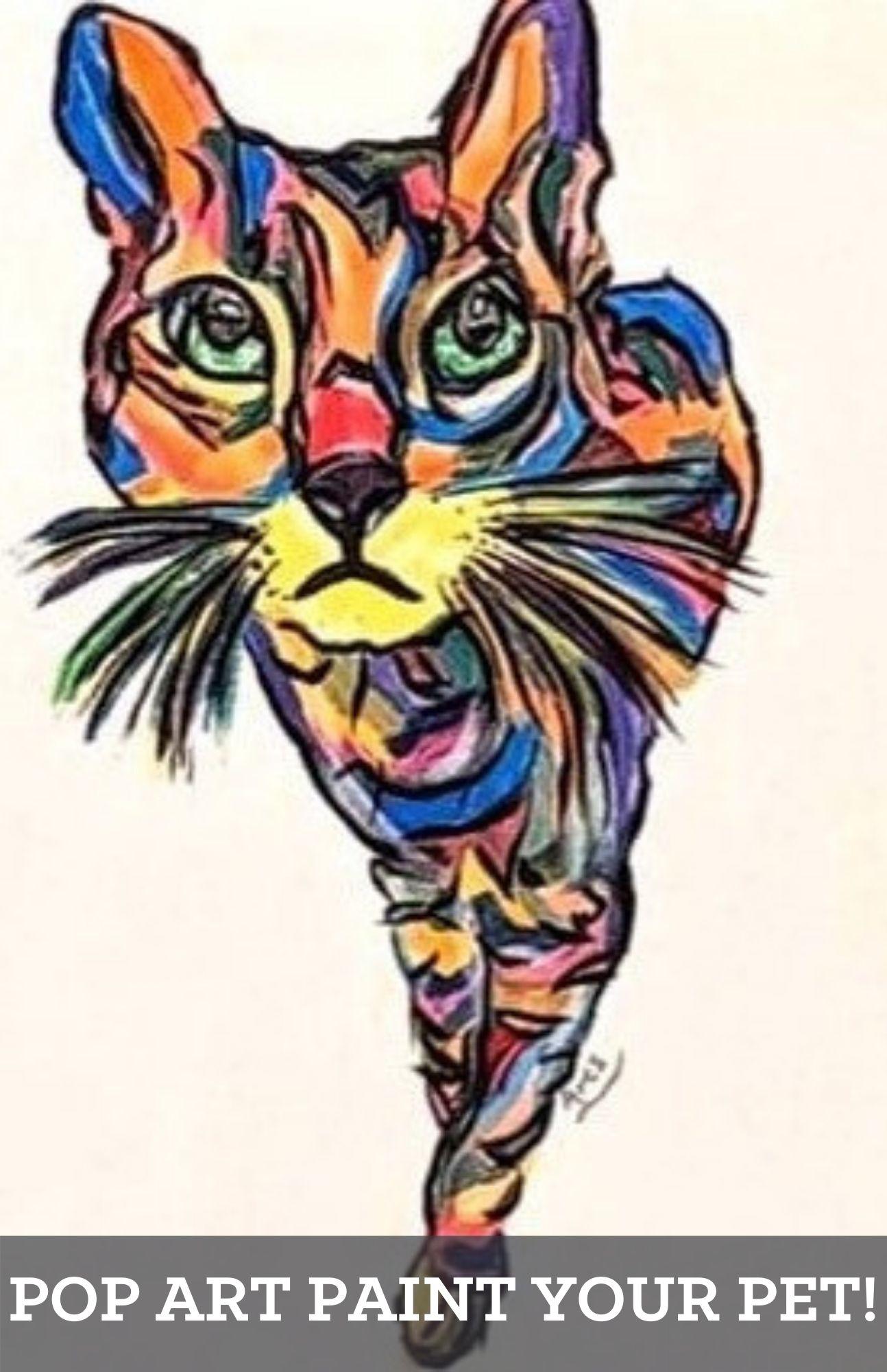 Pop Art Paint Your Pet