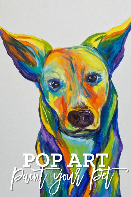 ON WHEELS PAINT YOUR PET AT HAIR OF THE DOG - WINE BAR AND TAP HOUSE