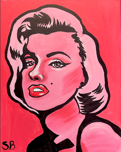 Marilyn Monroe **You choose any color!**