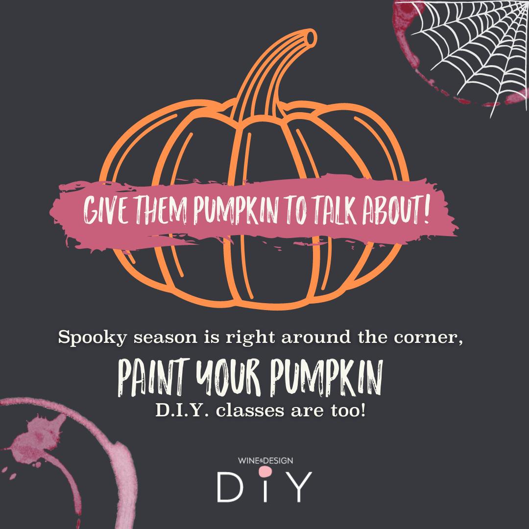 Paint Your Own Pumpkin