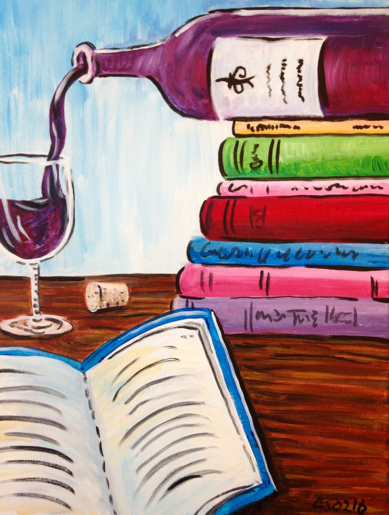 A Good Read with Wine