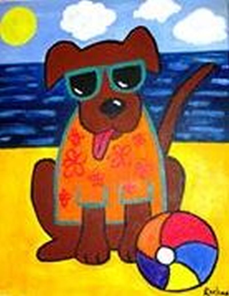 Kiddo Beach Dog