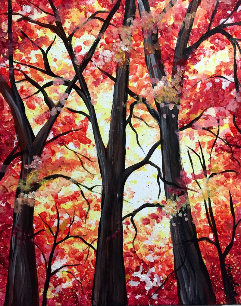 Paint Night at Twisted Grounds **Each ticket comes with a glass of wine!**