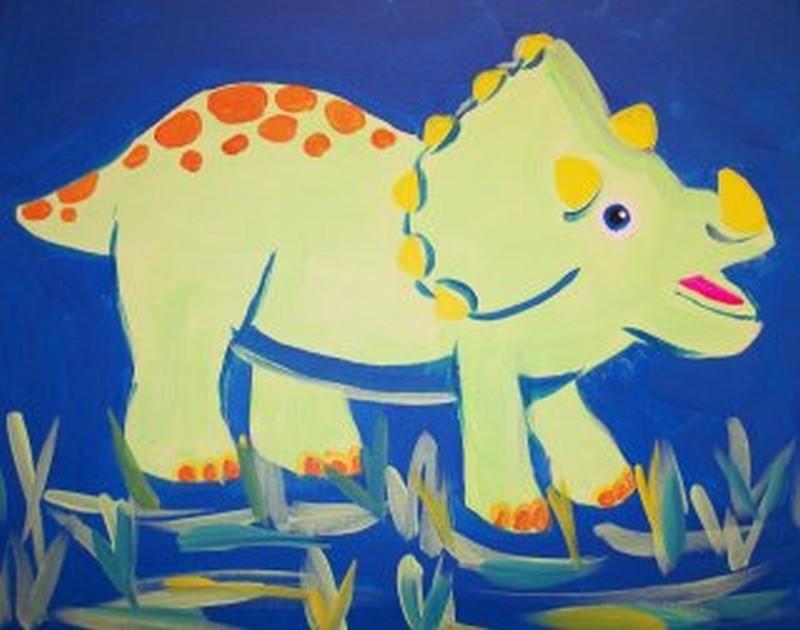 KIT: Kiddo Green Dinosaur