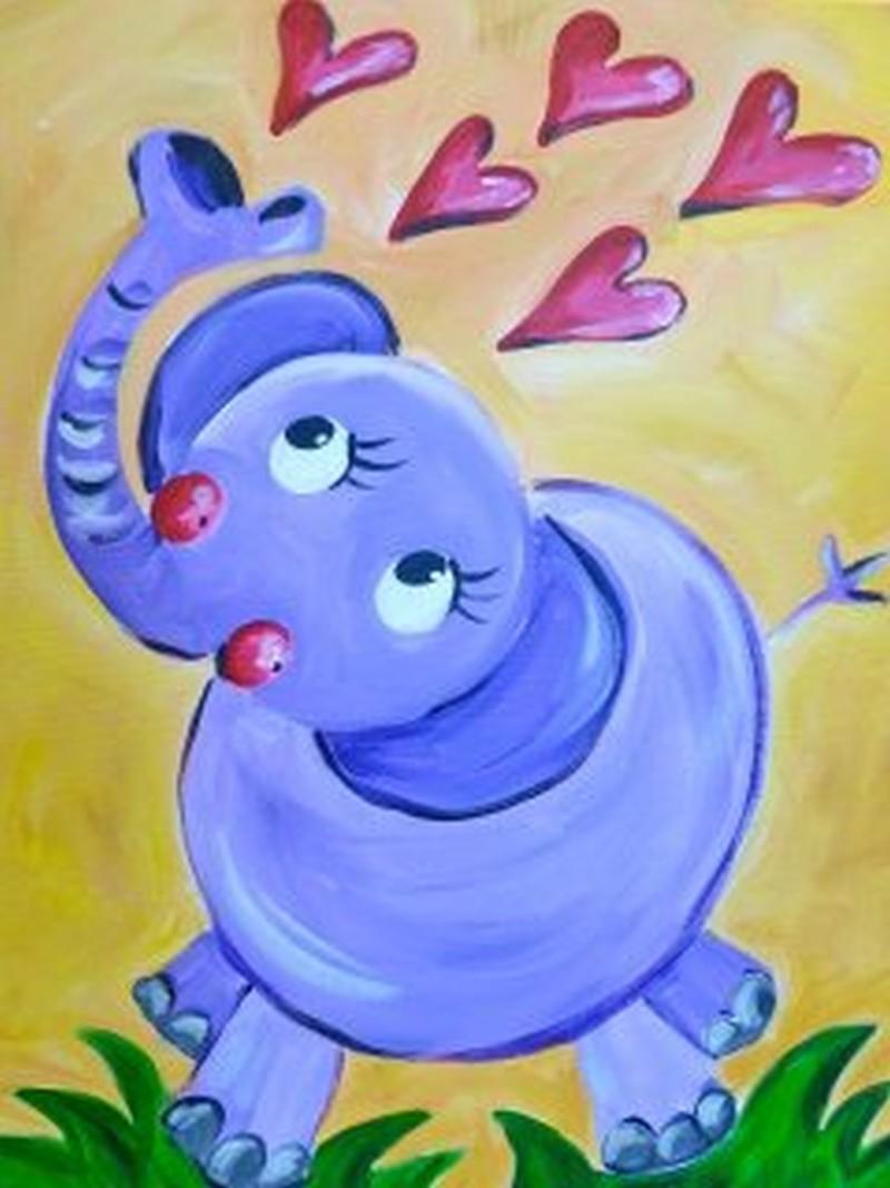 Kiddo Elephant Hearts