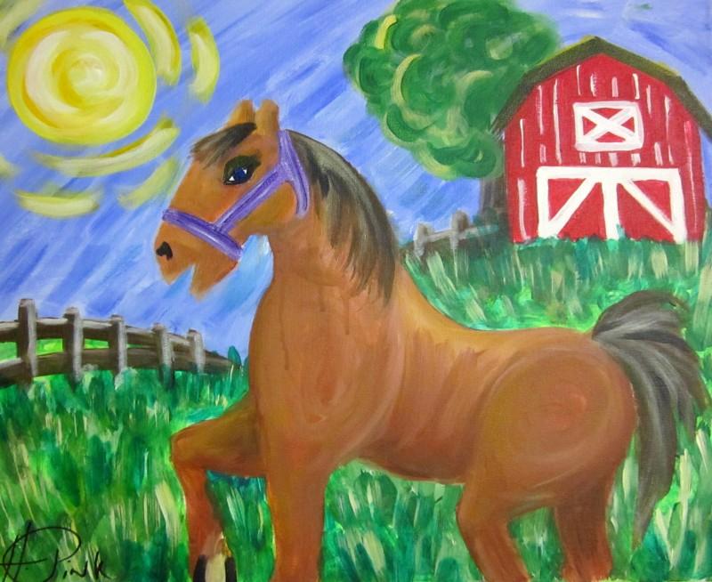 Virtual Class - Kiddo Happy Horse Barn