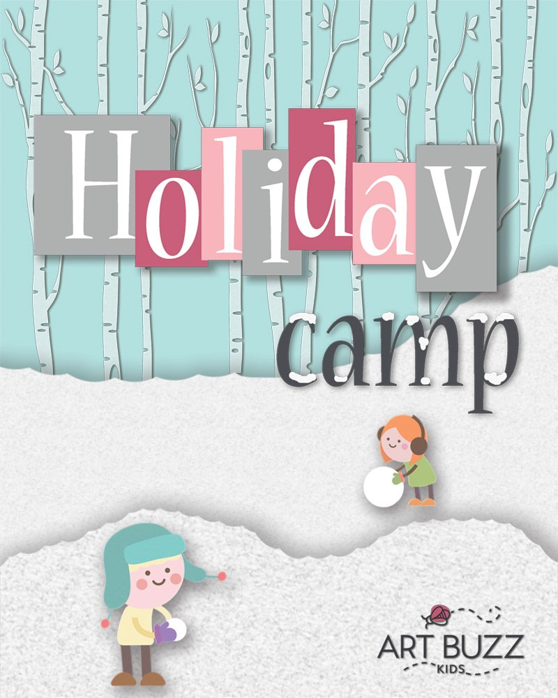 2 Day - Half Day - Holiday Art Camp