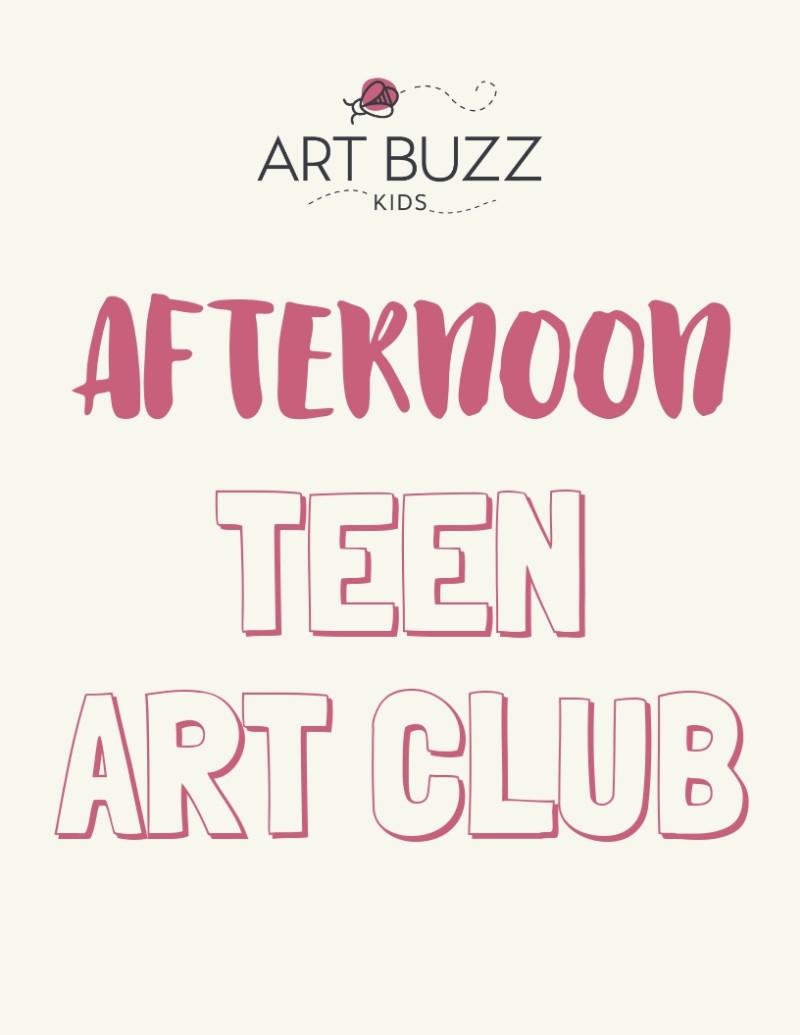 Afternoon Teen Art Club
