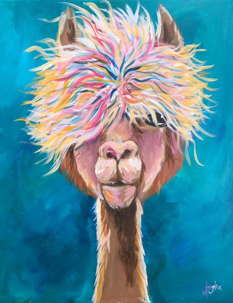Allie the Alpaca - Virtual Class & Art Kit