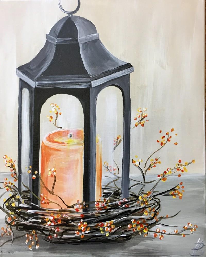Virtual Class Autumn Lantern