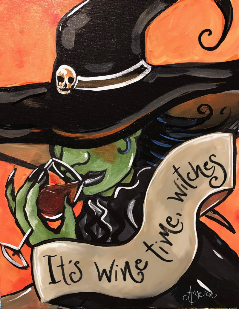 """ON WHEELS @ Brus on Main (Fuquay Varina) """"Wine Time Witches"""" 7:00-9:00pm"""