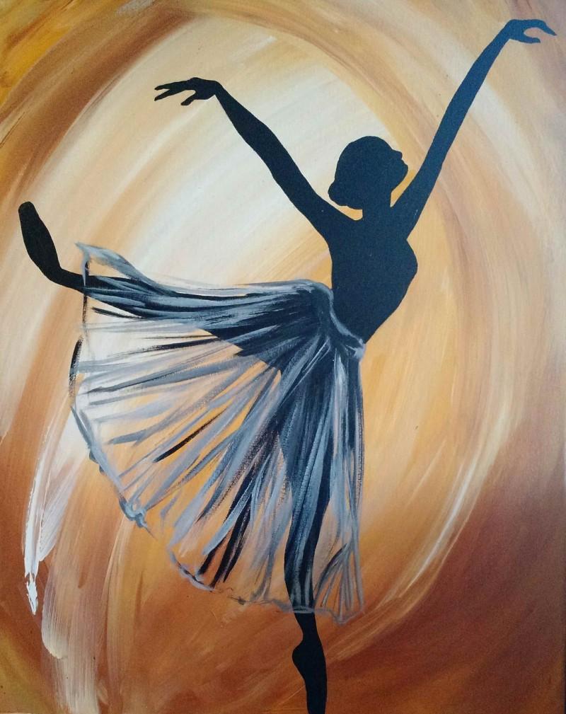 KIT:  Ballerina Silhouette