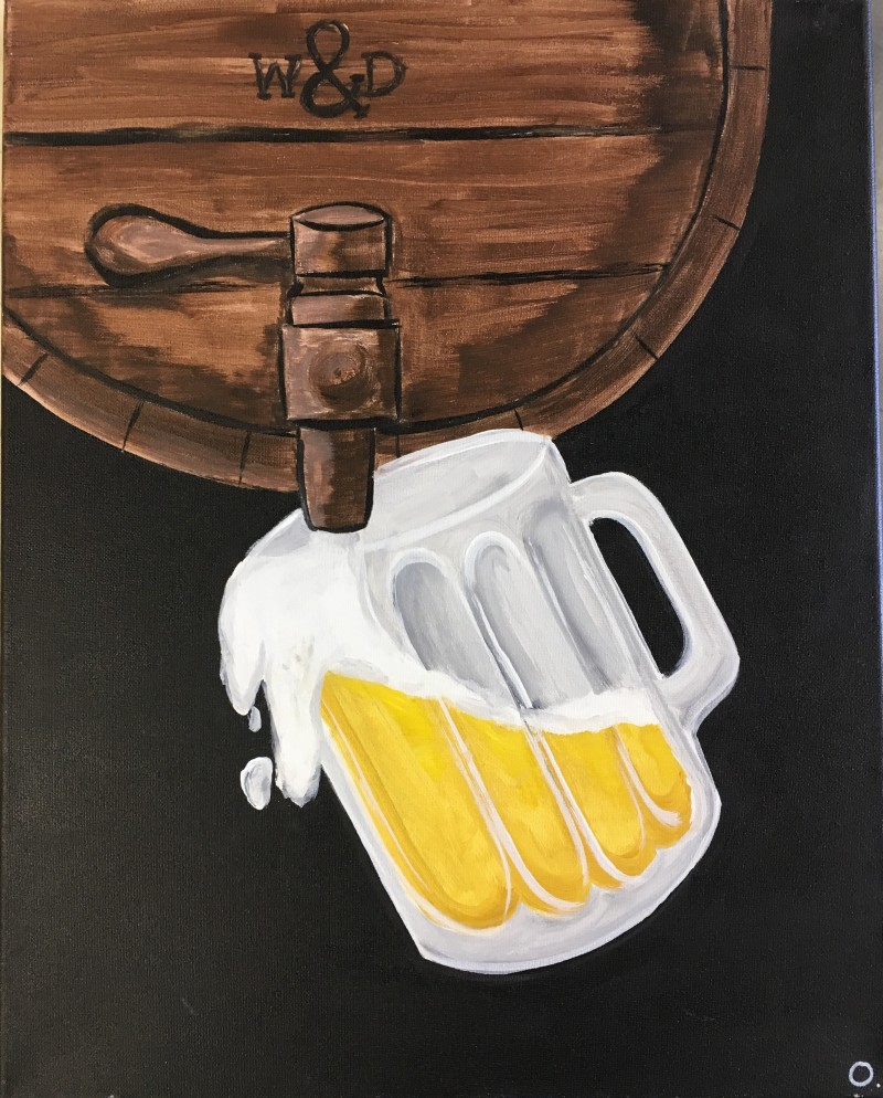 On Wheels @ Edward Teach Brewery | Keg Pour