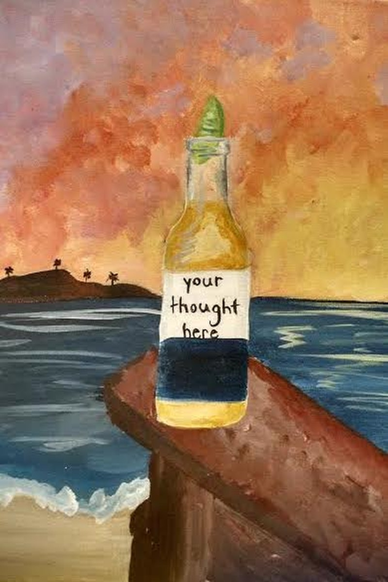 A BEER FOR YOUR THOUGHTS - VIRTUAL CLASS