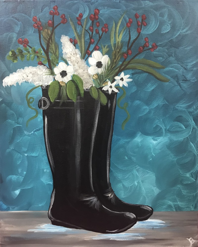 LIVE Virtual Class: Boots & Blooms