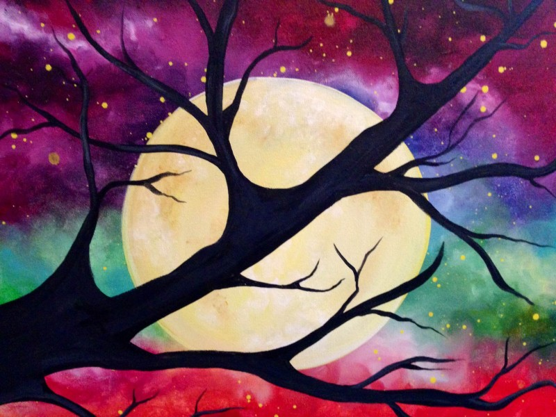 LIVE Virtual Class: Branch Over Moon