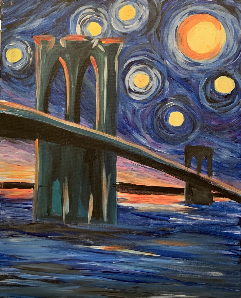 PAINT NIGHT @ TRATTORIA NAPOLI | BYOB EVENT | AUGUST 27TH | 6:30PM