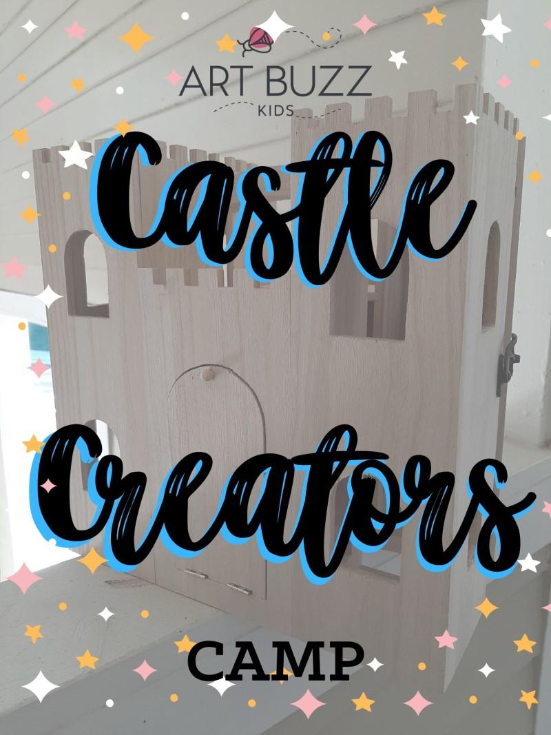 WEEK-LONG Kids Summer Camp: Castle Creators 9am-1pm
