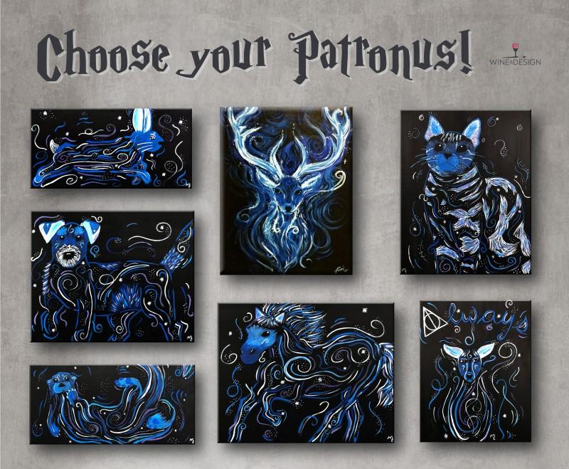 IN STUDIO | CHOOSE YOUR PATRONUS