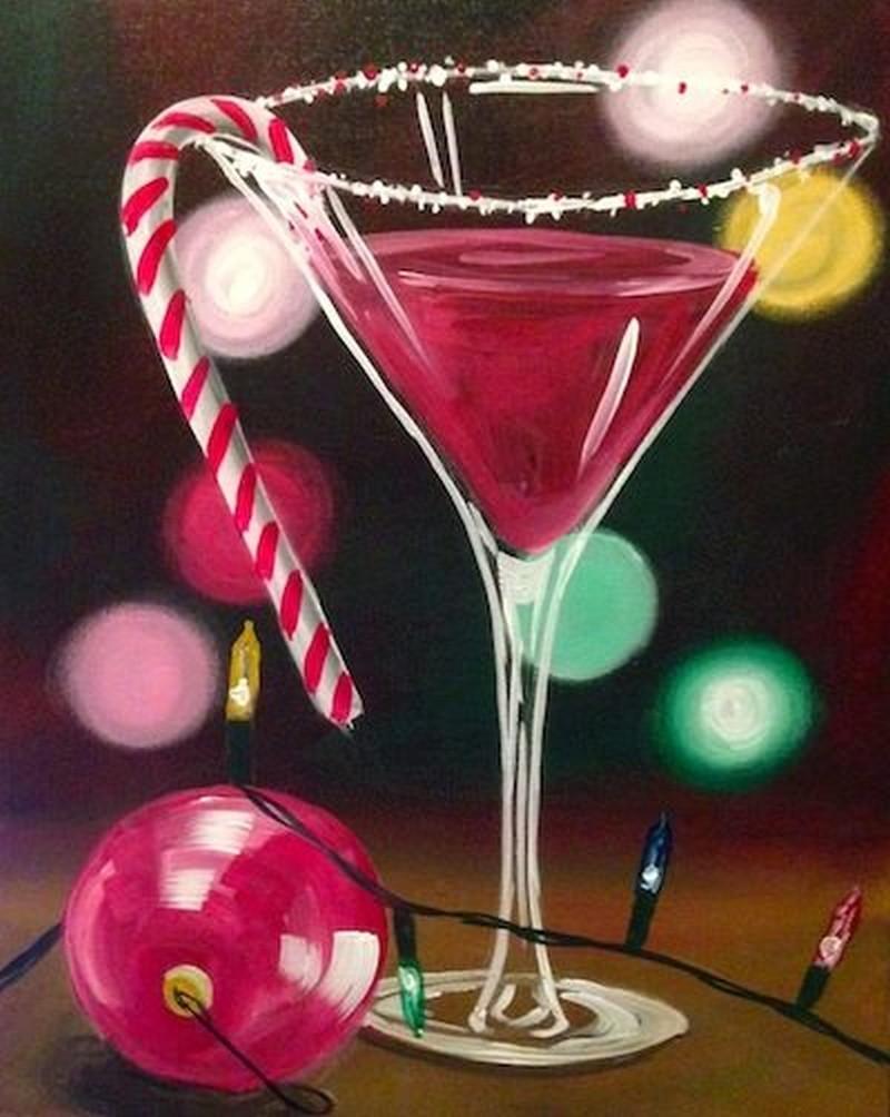 VIRTUAL EVENT- Christmas Martini