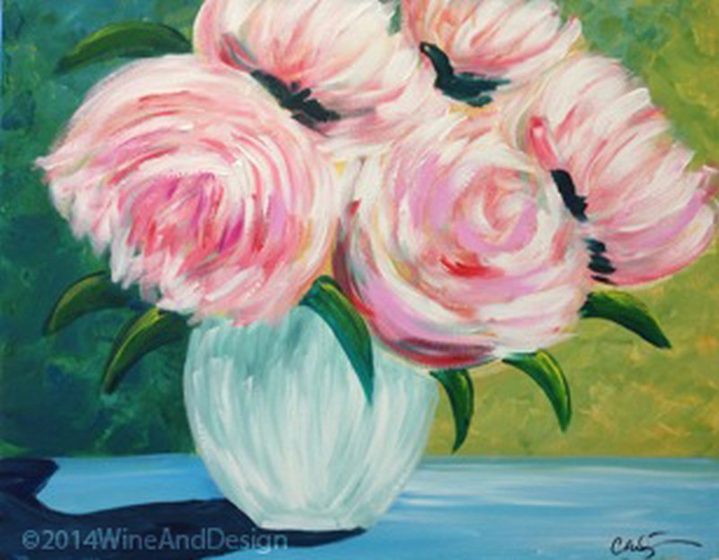 """Paint It Forward For """"Susan G. Komen""""  October is Breast Cancer Awareness Month!"""