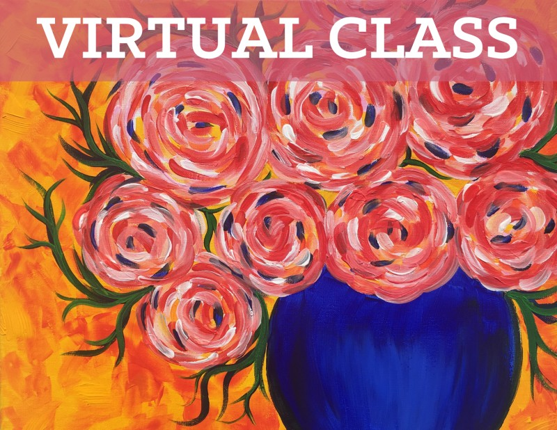 Prerecorded Virtual Class with Art Kit